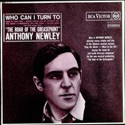 Click here for more info about 'Anthony Newley - Who Can I Turn To'