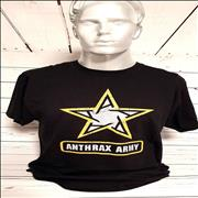 Click here for more info about 'Anthrax Army T-Shirt - Large'
