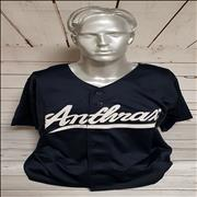 Click here for more info about 'Anthrax Baseball Shirt - Large'