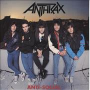 Click here for more info about 'Anthrax - Anti-Social - Orange Amber Vinyl'