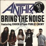 Click here for more info about 'Anthrax - Bring The Noise - Etched'