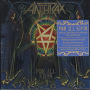 Click here for more info about 'Anthrax - For All Kings - Deluxe Edition - Sealed'