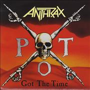 Click here for more info about 'Anthrax - Got The Time - Poster Sleeve'