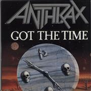 Click here for more info about 'Anthrax - Got The Time'