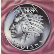 Click here for more info about 'Anthrax - Indians - Orange Vinyl'