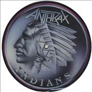 Click here for more info about 'Anthrax - Indians'