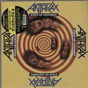 Click here for more info about 'Anthrax - State Of Euphoria - Obi-Stickered + Bandana & Poster'