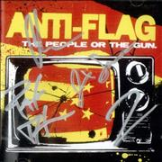 Click here for more info about 'Anti-Flag - The People Or The Gun - Fully Autographed'
