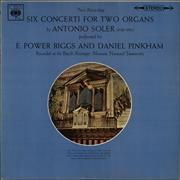 Click here for more info about 'Antonio Soler - Six Concerti For Two Organs'