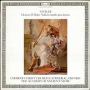 Click here for more info about 'Antonio Vivaldi - Gloria in D major / Nulla in mundo pax sincera'