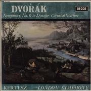 Click here for more info about 'Antonín Dvorák - Symphony No. 6 in D Major / Carnival Overture - WB'