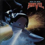 Click here for more info about 'Anvil - Metal On Metal'