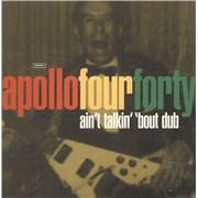 """Apollo 440 Ain't Talkin' 'Bout Dub UK 12"""" vinyl"""