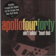 Apollo 440 Ain't Talkin' 'Bout Dub UK CD single