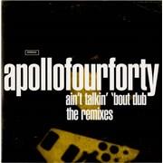 Apollo 440 Ain't Talkin' 'Bout Dub Australia CD single