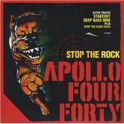 Apollo 440 Stop The Rock UK CD single