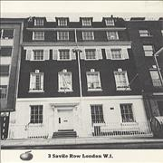 Click here for more info about 'Apple Label - 3 Savile Row Postcard'