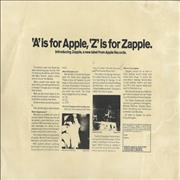 Click here for more info about 'Apple Label - A Is For Apple, Z Is For Zapple'