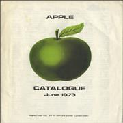 Click here for more info about 'Apple Label - Apple Catalogue - June 1973'