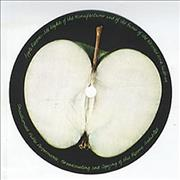 Click here for more info about 'Apple Label - Pair Of Unused 'Sliced' LP Labels'