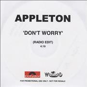 Click here for more info about 'Appleton - Don't Worry'