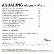 Click here for more info about 'Aqualung - Magnetic North'