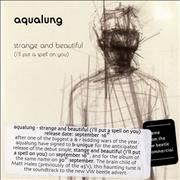 Click here for more info about 'Aqualung - Strange And Beautiful'
