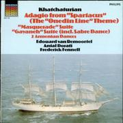 Click here for more info about 'Aram Khachaturian - Adagio from Spartacus, Masquerade Suite & Gayaneh Suite'