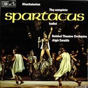 Click here for more info about 'Aram Khachaturian - Spartacus - Quad - Sealed'