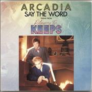 Click here for more info about 'Arcadia - Say The Word'