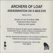 Click here for more info about 'Archers Of Loaf - Assassination On X-Mas Eve'