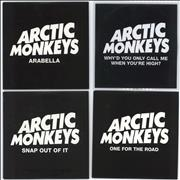Click here for more info about 'Arctic Monkeys - A Set of 4 Promotional CDs'