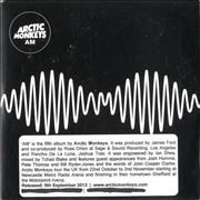 Click here for more info about 'Arctic Monkeys - AM'