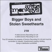 Click here for more info about 'Arctic Monkeys - Bigger Boys And Stolen Sweethearts'