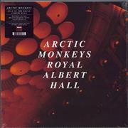 Click here for more info about 'Arctic Monkeys - Live At The Royal Albert Hall - 180gm Clear vinyl'