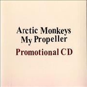 Click here for more info about 'Arctic Monkeys - My Propeller'
