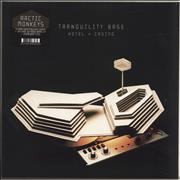 Click here for more info about 'Arctic Monkeys - Tranquility Base Hotel + Casino - 180gm - Clear - Sealed'