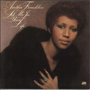 Aretha Franklin Let Me In Your Life Greece vinyl LP