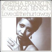Click here for more info about 'Aretha Franklin - Love All The Hurt Away - P/S'