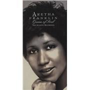 Aretha Franklin Queen Of Soul: The Atlantic Recordings UK 4-CD set
