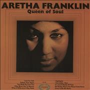 Aretha Franklin Queen Of Soul UK vinyl LP