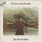 Aretha Franklin The First 12 Sides UK vinyl LP