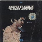 Aretha Franklin This Girl's In Love With You - Stickered Shrink USA vinyl LP