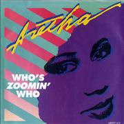 Click here for more info about 'Aretha Franklin - Who Zoomin' Who + P/S'