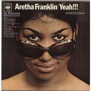 Aretha Franklin Yeah!!! - EX UK vinyl LP