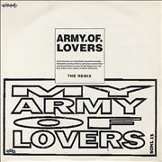 Click here for more info about 'Army Of Lovers - My Army Of Lovers - white sleeve'