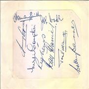 Click here for more info about '1950/51 Team Autographs'
