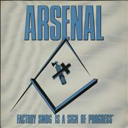 Click here for more info about 'Arsenal - Factory Sign Is A Sign Of Progress'