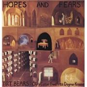 Art Bears Hopes And Fears + Booklet UK vinyl LP