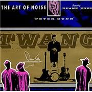 """Art Of Noise Peter Gunn UK 7"""" vinyl"""